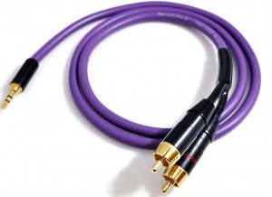 MELODIKA KABEL mini jack 3,5mm- 2x RCA MDMJ2R